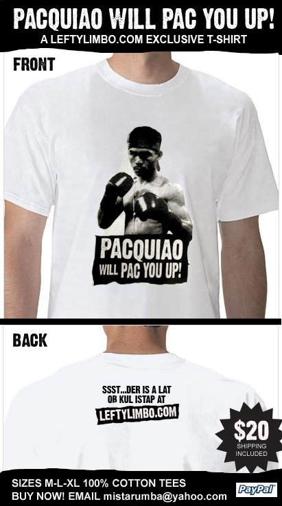 Pacquiao Will Pac You Up!